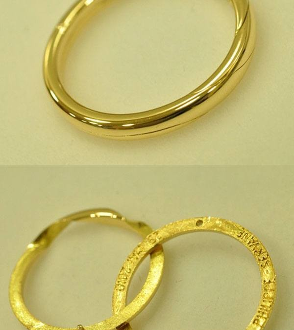 Secret wedding ring Classic Yellow Gold
